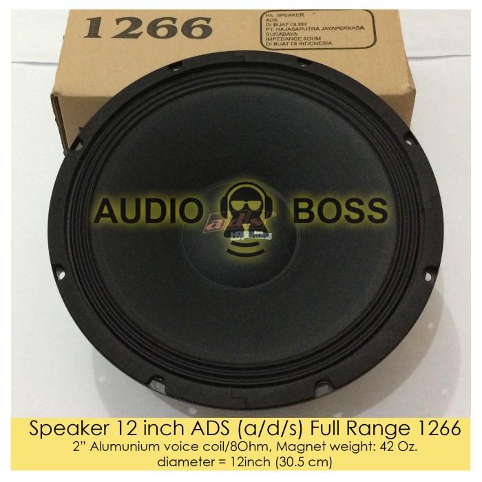 harga Speaker ads 12 inch full range 1266 - speaker ads 12  full range 1266 Tokopedia.com