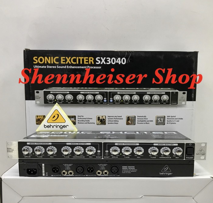 harga Behringer sx3040 sonic exciter -  sound enhancement processor  sx 3040 Tokopedia.com