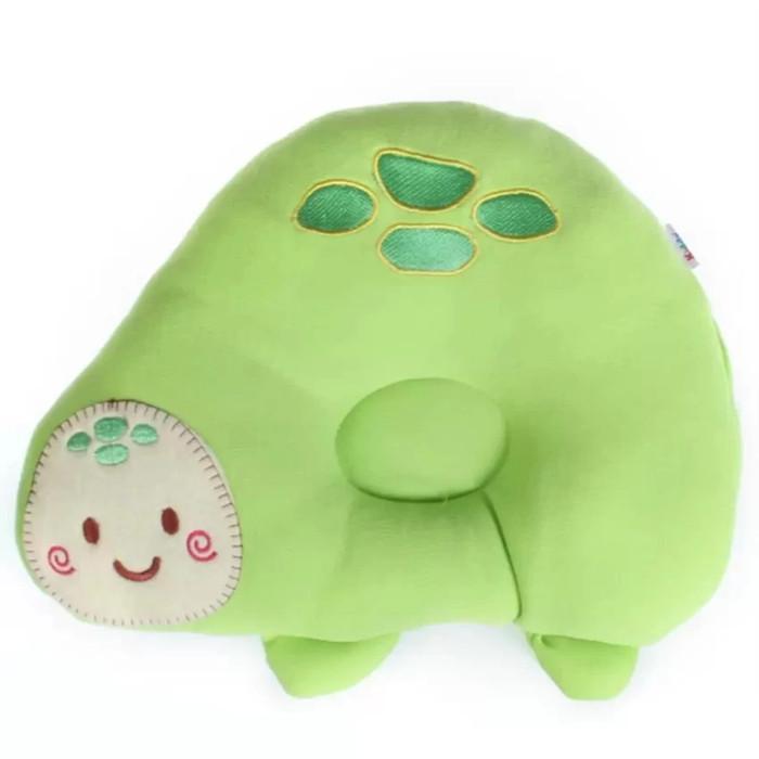 Kiddy Bantal Peang Bayi Motif Kura-Kura hijau - Bantal Peyang Bayi