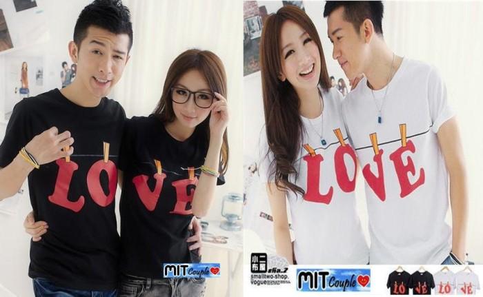 Baju | Kaos | Oblong | Couple | Pasangan