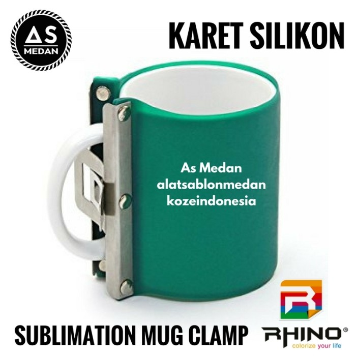 Karet Silikon Mesin Sublime Press Mug Alat Sablon Digital Sublimasi