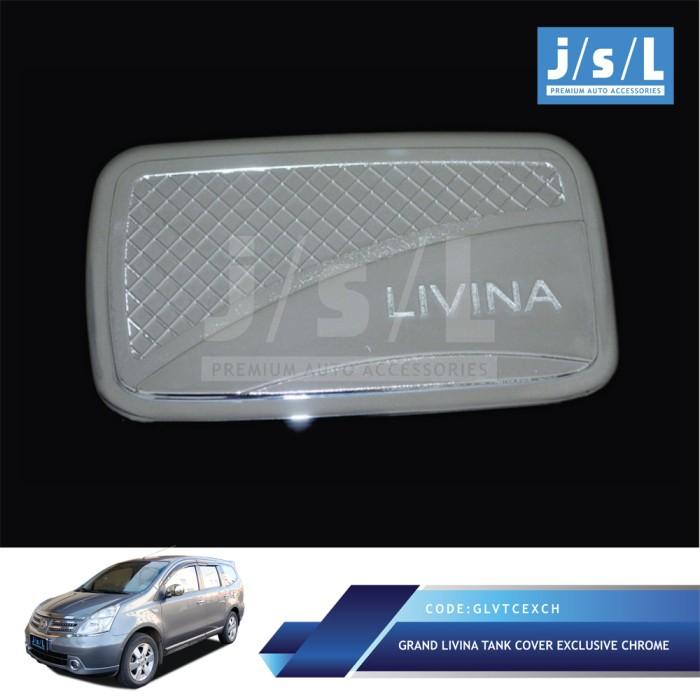 Foto Produk Nissan Grand Livina Tank Cover Exclusive Chrome / Aksesoris Livina dari Autotivo