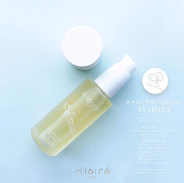 Klaire anti pollution essence 30ml s / spray wajah /sunblock