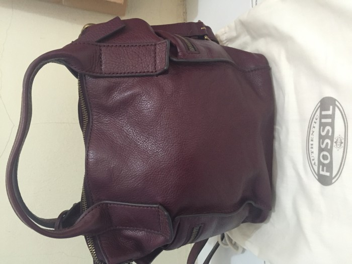 Foto Produk Tas  Fossil Emerson uk Small Maroon dari Branded_bag23