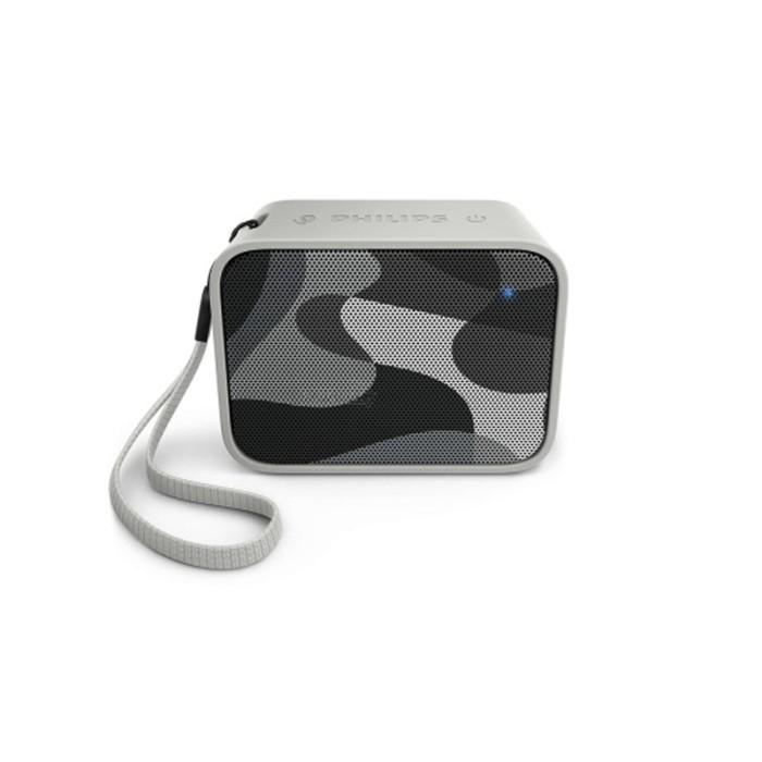 harga Philips pixel pop bt110 - bluetooth portable speaker - gray Tokopedia.com