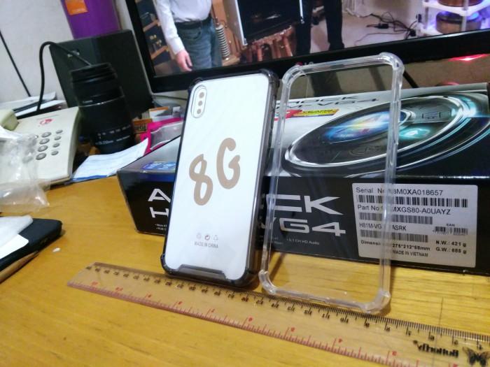 Anti Crack / Anticrack Mika Case iPhone X / 10 Shockproof Case Casing 2