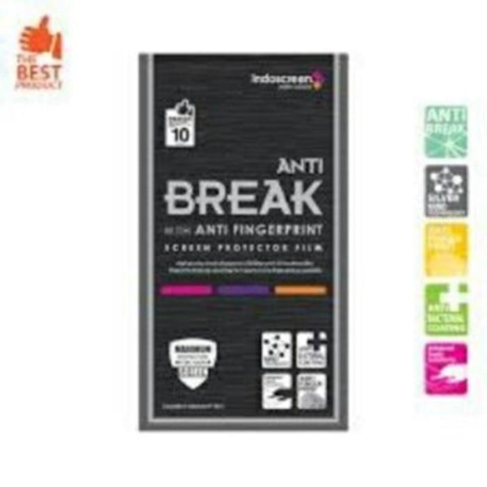 Indoscreen Iphone 7 Anti Gores / Anti Break (free Anti Gores Belakang)
