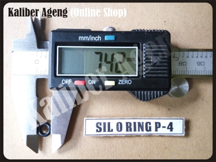 Foto Produk SIL O RING P-4 SPAREPART SENAPAN dari KALIBER AGENG