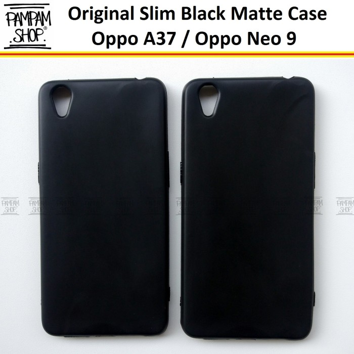 new styles 53c18 89f97 Jual Soft Case Slim Black Matte Oppo A37 Neo 9 Ultrathin Hitam Ultra Thin -  Jakarta Pusat - PAMPAM SHOP | Tokopedia