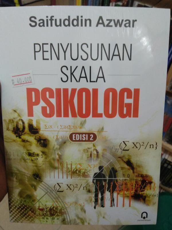 harga Penyusunan skala psikologi (edisi 2) - saifuddin azwar Tokopedia.com