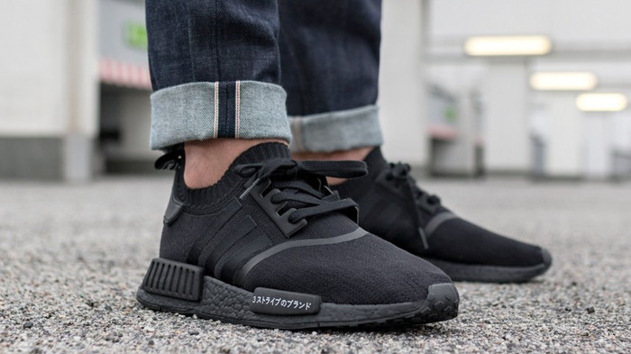 efdb37172c52a FAST PO - Adidas NMD R1 PK Triple Black Japan Authentic Unauthorized