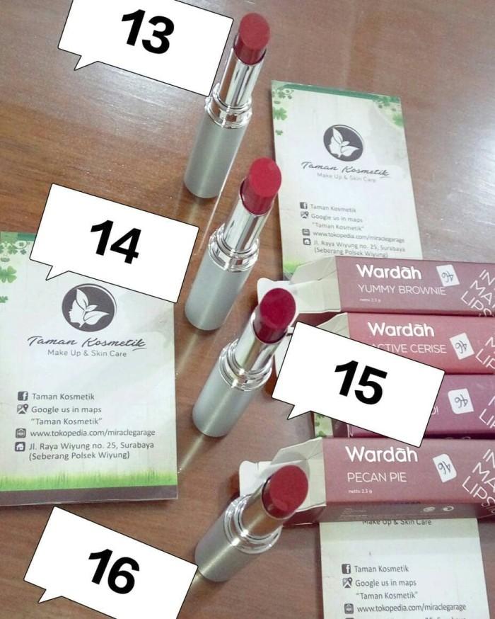 Jual Wardah Intense Matte Lipstick Lipstik 01 09 Kota Surabaya