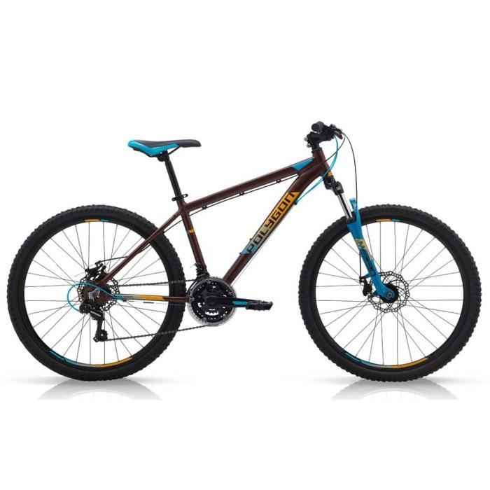 harga 26in polygon monarch 5 al6 3x7sp cakram mekanis sepeda gunung brown Tokopedia.com