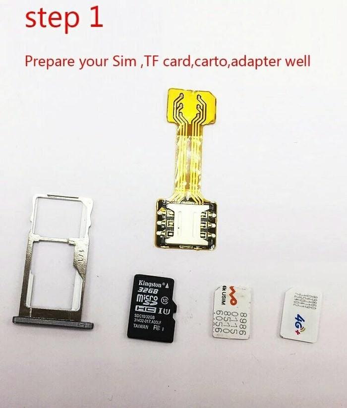 harga Dual sim + hybrid sim microsd extender Tokopedia.com