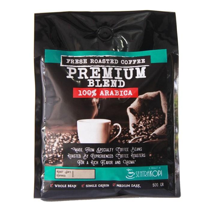 harga Kopi arabika premium blend 500 gram - 100% arabika coffee Tokopedia.com