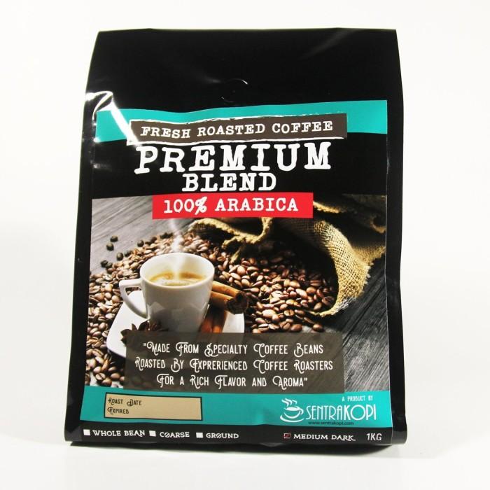 harga Premium blend arabica coffee 1kg - bubuk / biji - kopi premium arabika Tokopedia.com