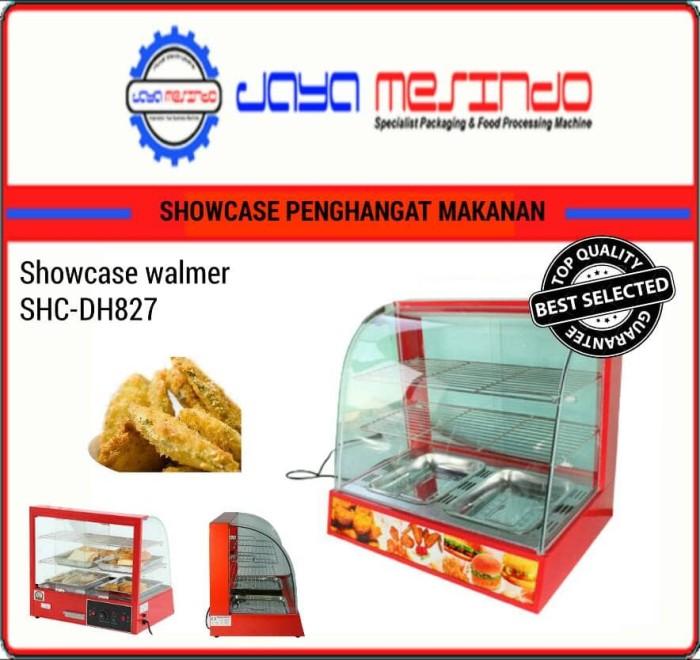 Show case/display warmer penghangat makanan