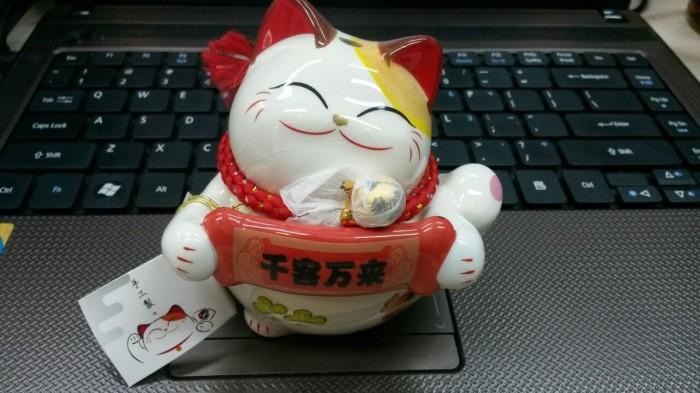 Model Baru! Maneki Neko Kucing Keberuntungan
