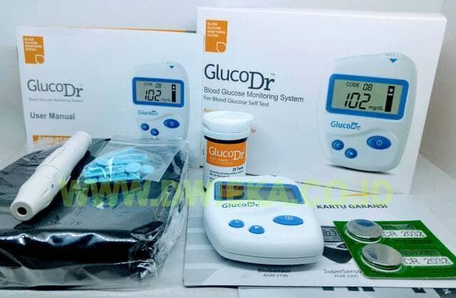 harga Alat Glucodr Biosensor Lengkap + 25 Strip (garansi Alat Seumur Hidup) Tokopedia.com