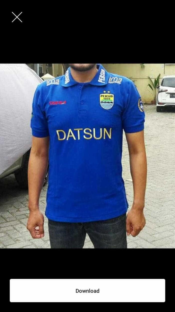 Jual Kaos Kerah Polo Shirt PERSIB OFFICIAL Terlaris Jakarta Timur Lucky Clothez
