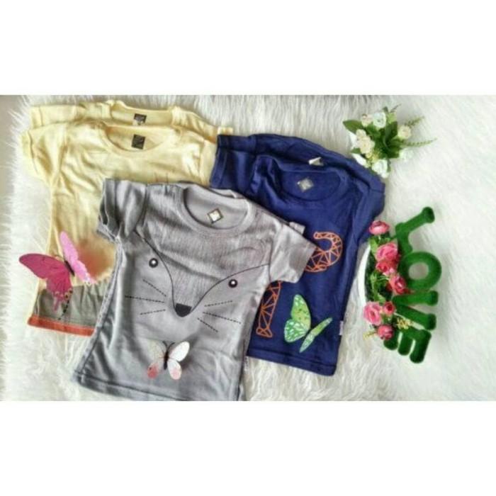 T Shirt Kaos Anak Kazel Penguin Boy Isi 6 Pc