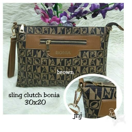 harga Tas murah/tas lokal/sling bag murah/clutch murah/sling clutch bonia Tokopedia.com