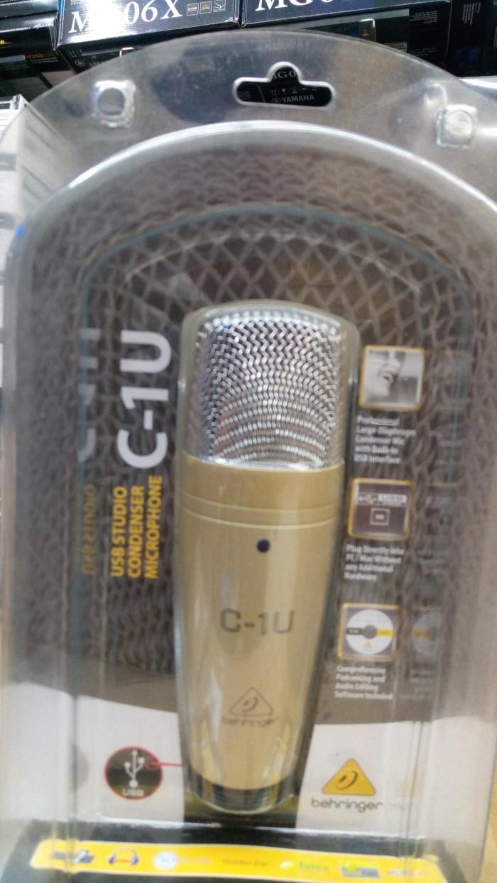 harga Mic recording /studio/condenser behringer c1 Tokopedia.com