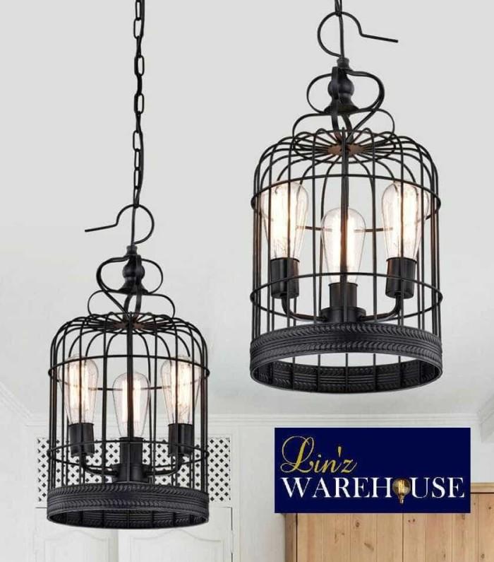 harga Lampu gantung sangkar burung bird cage pendant light Tokopedia.com