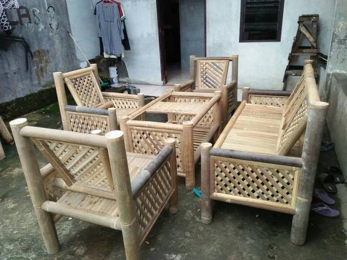 930 Koleksi Gambar Kursi Anyaman Bambu HD