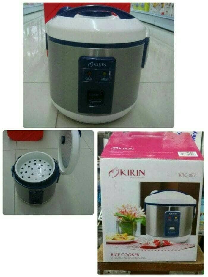 harga Magic com mini/rice cooker mini kirin krc 087 1ltr murah brrkualitas Tokopedia.com