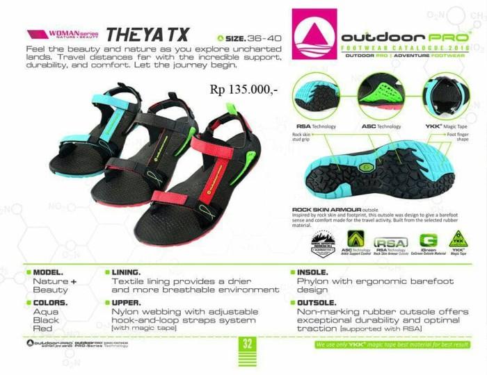harga Sandal gunung outdoor pro wanita seri theya red Tokopedia.com