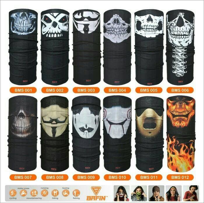 harga Bandana motif mask ii / buf/ baff / baff masker Tokopedia.com