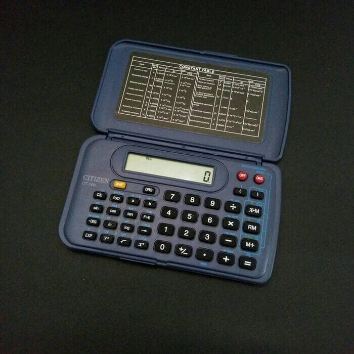 harga Kalkulator citizen ct-109 scientific calculator kantong saku murah Tokopedia.com