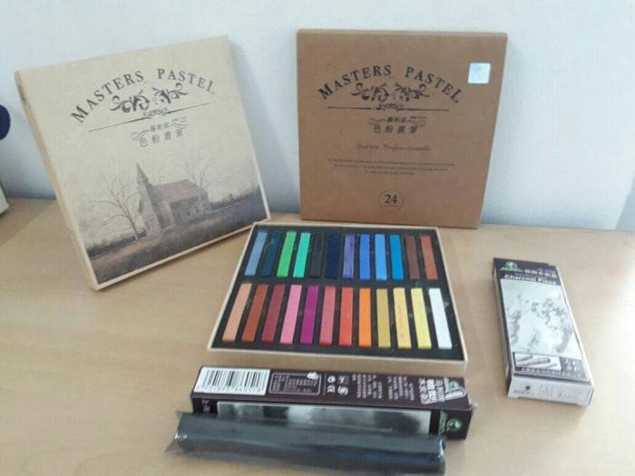 harga Master pastel 24 color (hair chalk) Tokopedia.com
