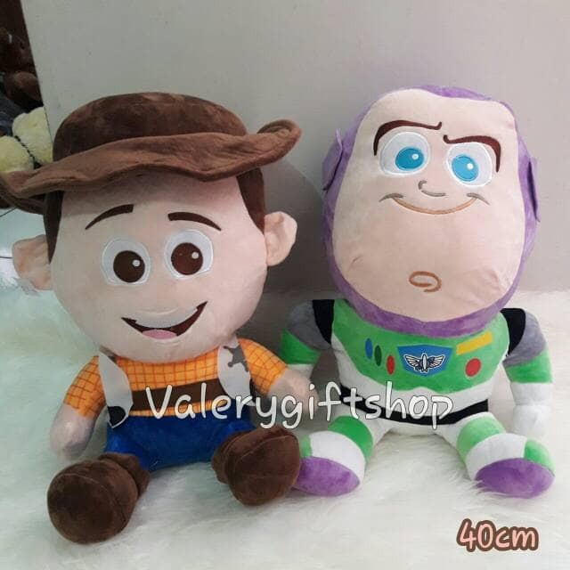 harga Boneka woody toy story / buzz lightyear disney ukuran 40cm Tokopedia.com