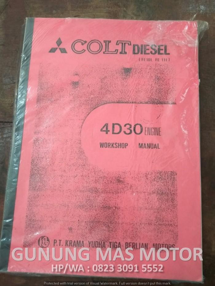 harga Buku pedoman perbaikan reparasi mitsubishi colt diesel mesin 4d30 Tokopedia.com