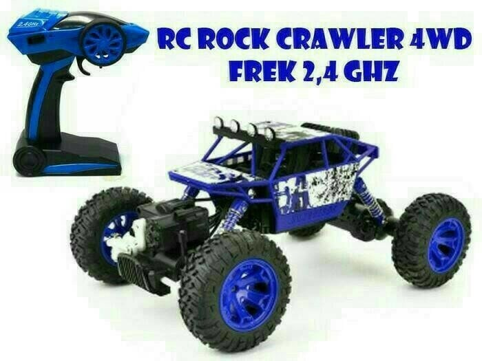 harga Rc rock crawler climbing 4wd 2.4g 1/18 offroad rally car rtr Tokopedia.com