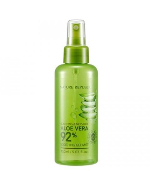 harga Nature republic soothing & moisture aloe vera 92% soothing gel mist Tokopedia.com