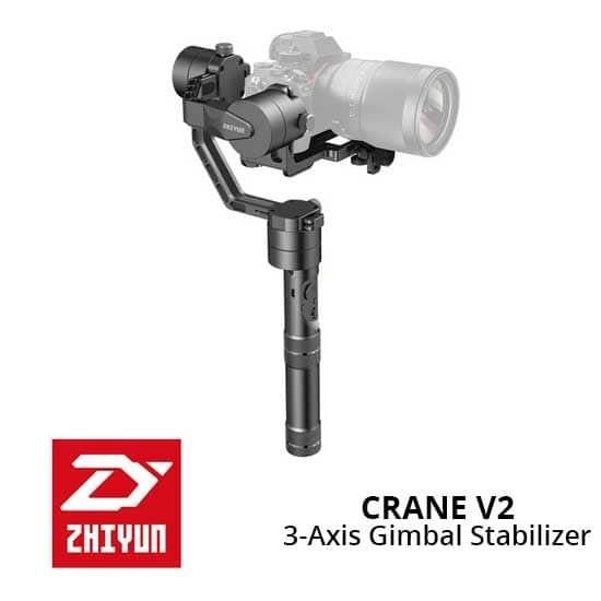 harga Steadycam zhiyun crane v2 3-axis stabilizer gimbal camera Tokopedia.com