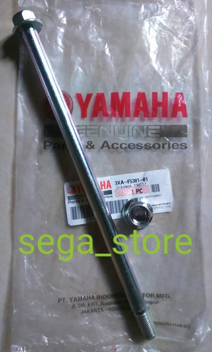 e49923086 Jual as roda belakang yamaha jupiter Z ori original YGP - Kota ...