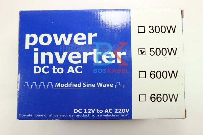 harga Power inverter usat dc to ac 500 watt + bonus colokan ke lighter Tokopedia.com