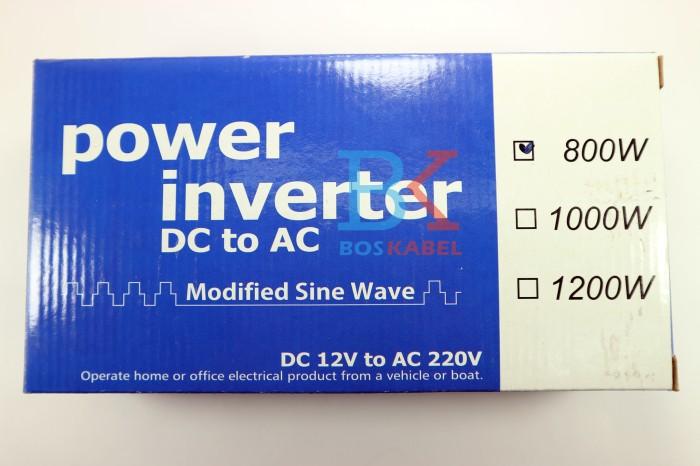 harga Power inverter usat dc to ac 800 watt + bonus colokan ke lighter Tokopedia.com
