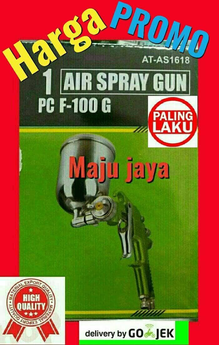 harga Spray gun tekiro f 100 g kompresor angin swan puma shark ryu sagola Tokopedia.com