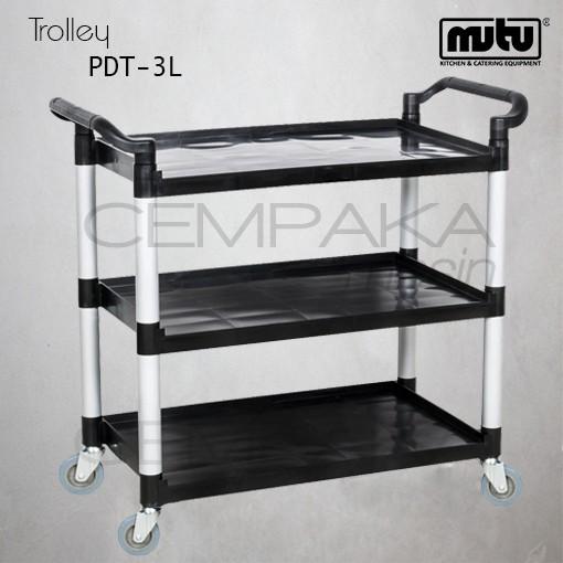 harga Trolley pengumpul piring kotor dan sisa makanan restoran mutu pdt-3l Tokopedia.com