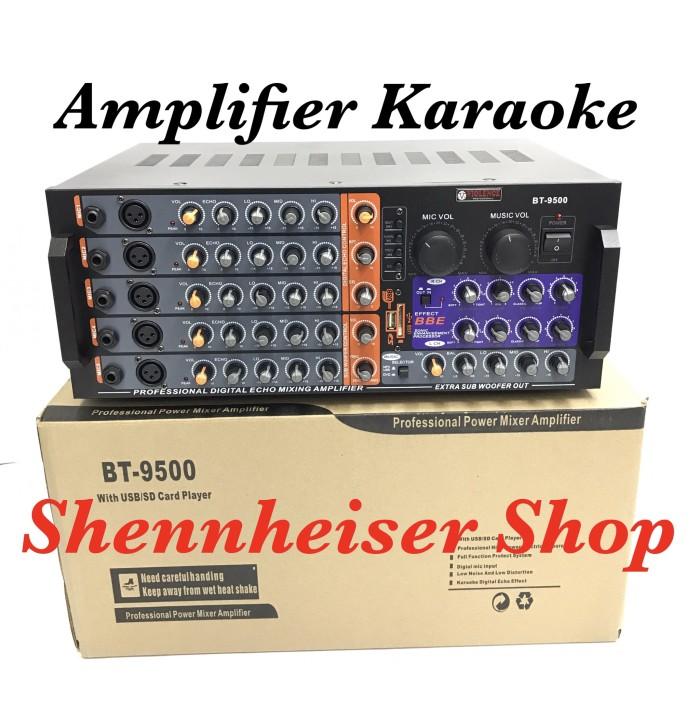 harga Amplifier karaoke violence bt 9500 with bbe processor Tokopedia.com