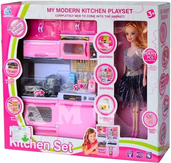 Jual Modern Kitchen Set With Doll 5619 Mainan Anak Masakan Limited Jakarta Pusat Permainan Anak Tokopedia