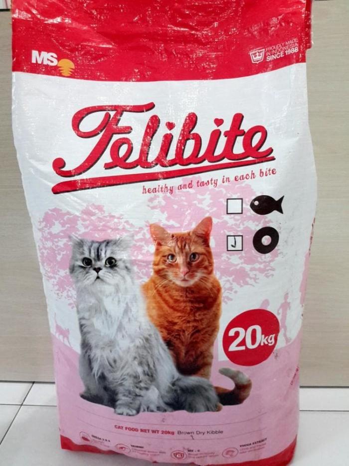 Jual Makanan Kucing Berkualitas Hobi 20 Kg Felibite Cat Food 20kg