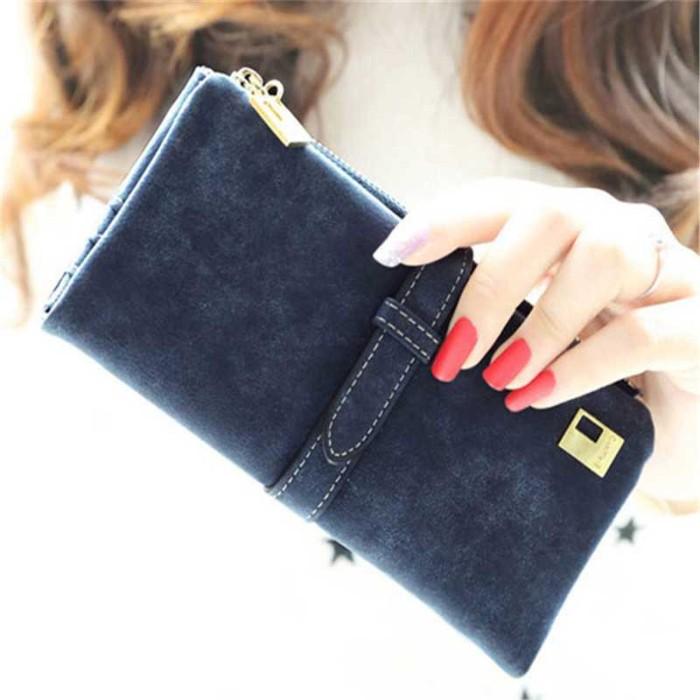 Dompet Kulit Wanita Model Panjang