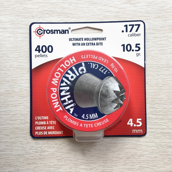 harga Mimis crosman piranha cal.4.5mm, 400pcs, 10.5gr Tokopedia.com