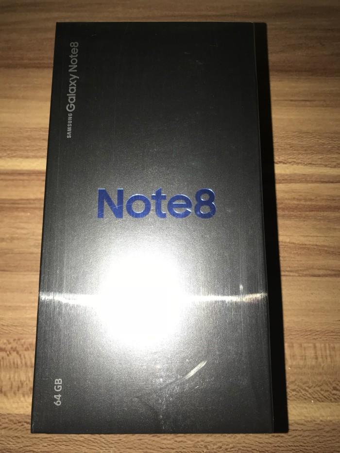 Samsung Galaxy Note 8, 64GB, Midnight BLACK, Garansi Resmi SEIN